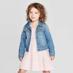 OshKosh B'gosh Toddler Girls' Denim Jacket - Blue 3T, Blue/Blue | Target