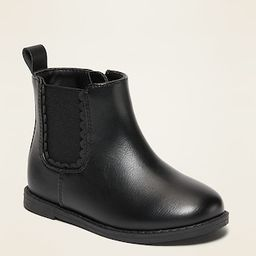 Side-Zip Chelsea Boots for Toddler Girls | Old Navy (US)