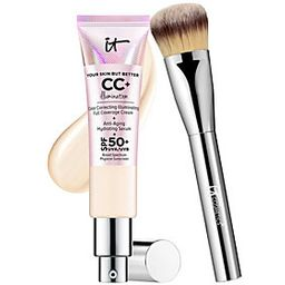 IT Cosmetics Full Coverage SPF 50 CC Cream Illumination w/ | QVC