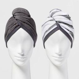 2pk Bath Hair Wrap - Room Essentials™ | Target