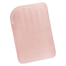 """Sygile 11"""" X 7.5"""" Larger Size Heat Resistant Silicone Travel Mat, Anti-heat Pad for Hair Straight... 