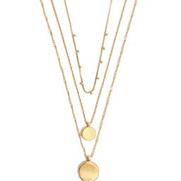 Coin Layered Necklace   Nordstrom