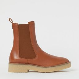 Leather Chelsea boots   H&M (UK, IE, MY, IN, SG, PH, TW, HK, KR)