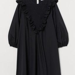 Ruffle-trimmed Cotton Dress   H&M (US)