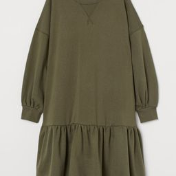 Sweatshirt Dress   H&M (US)