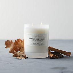 Sydney Hale Candle, Woodsmoke + Amber   Terrain