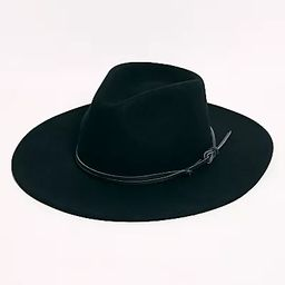 Billie Leather Band Felt Hat | Free People (US)