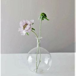 "Clear Glass Round Bottle Bud Vase 10"" Tall   Walmart (US)"
