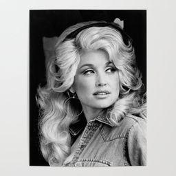 Dolly Parton Poster   Society6