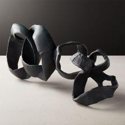 Black Ribbon Sculpture + Reviews   CB2   CB2