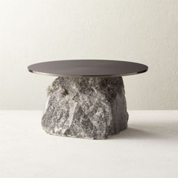 Hubbard Small Marble Cake Stand + Reviews   CB2   CB2