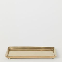 Small Metal Tray   H&M (US)