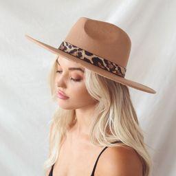 Safari Party Tan Wool Hat   Lulus (US)