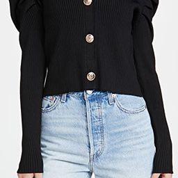 Pleated Puff Sleeve Top | Shopbop