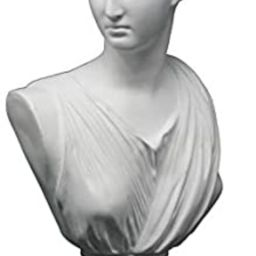 Good Buy Gifts Diana The Huntress Bust - Roman God Statue - 1Ft Height - White/Green Color (White... | Amazon (US)