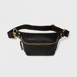 Women's Belt Bag - Universal Thread™ Black   Target