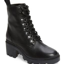 Taylor Block Heel Combat Boot | Nordstrom
