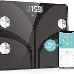 Body Fat Scale, Smart Wireless Digital Bathroom BMI Weight Scale, Body Composition Analyzer Healt... | Amazon (US)