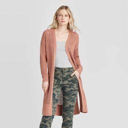 Women's Open Stitch Cardigan - Universal Thread™ | Target