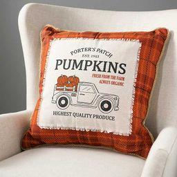 Pumpkin Truck Pillow | Kirkland's Home