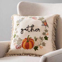 New!Gather Fringe Pillow   Kirkland's Home