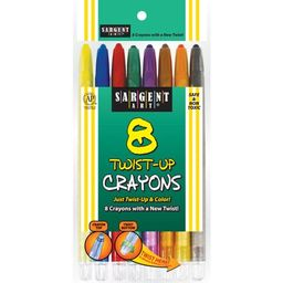 Sargent Art® Twist-Up Crayons, Assorted Colors, 8 Per Box, 12 Boxes   Walmart (US)