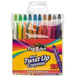 Cra-Z-Art Mini Twist Up Crayons , 20 Count   Walmart (US)