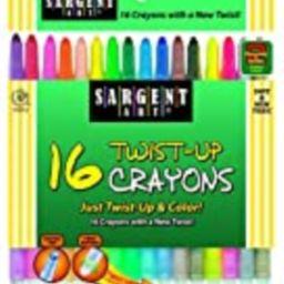 Sargent Art 55-0981 16-Count Twist-Up-Crayons   Amazon (US)