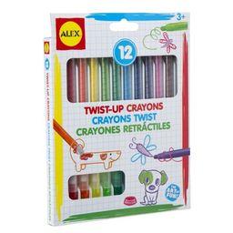 ALEX Toys Artist Studio 12 Twist Up Crayons   Walmart (US)