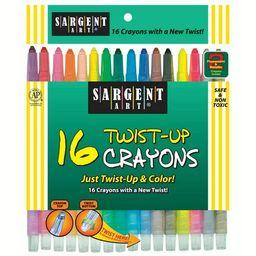 Sargent Art® Twist-Up Crayons, 16 per pack, 6 packs   Walmart (US)