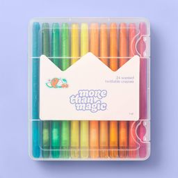 24ct Scented Twistable Crayons - More Than Magic   Target