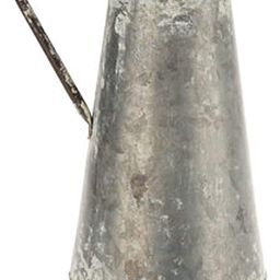 HL Distressed Galvanized Metal Pitcher with Large Handle and Round Opening, 7.3 Inch L x 9 Inch W...   Amazon (US)
