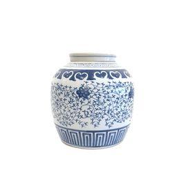 Blue and white ginger jar   Etsy   Etsy (US)