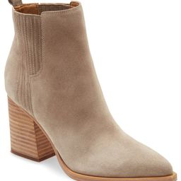 MARC FISHER LTD Oshay Pointed Toe Bootie, Main, color, CLOUD SUEDESize InfoIf between sizes, orde...   Nordstrom