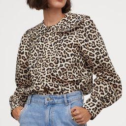 Large-collared Blouse   H&M (US)