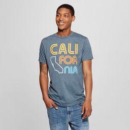 Men's Short Sleeve Cali-For-Nia Graphic T-Shirt - Awake Navy   Target