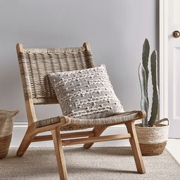 Lounge Chair - Round Rattan   Cox and Cox