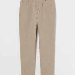 Slim Mom High Ankle Jeans | H&M (UK, IE, MY, IN, SG, PH, TW, HK, KR)