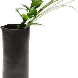 Libbey Prologue Drift Handmade Ceramic Carafe Vase, Black | Amazon (US)
