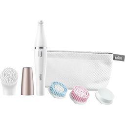 Braun 851 FaceSpa Mini-Facial Epilator with 4 Facial Cleansing Brushes | Walmart (US)