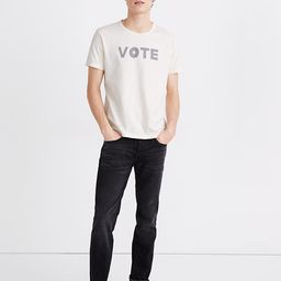 Vote Graphic Allday Crewneck Tee | Madewell