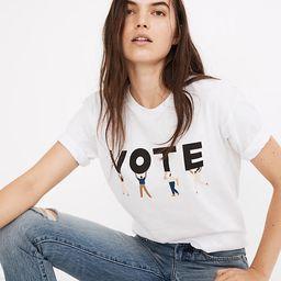 Vote Graphic Unisex Tee | Madewell