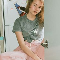Speak Up Short Sleeve Pocket Tee | Urban Outfitters (US and RoW)