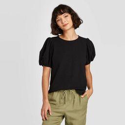 Women's Puff Short Sleeve T-Shirt - A New Day™ | Target