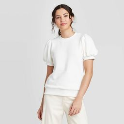 Women's Short Sleeve Sweatshirt - A New Day™   Target