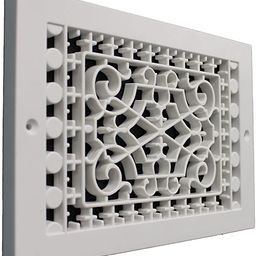 SMI Ventilation Products VBB610 Cold Air Return - 6 in x 10 in Victorian Style Base Board - Overa... | Amazon (US)