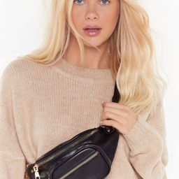 WANT It's in the Bag Faux Leather Bum Bag   NastyGal (US & CA)