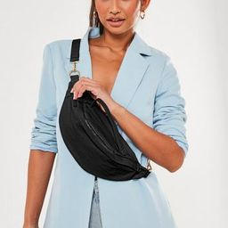 Black Top Handle Bum Bag   Missguided (US & CA)