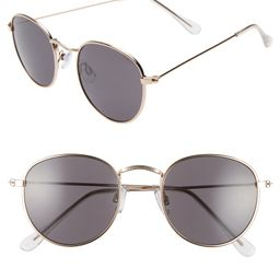 BP. 48mm Round Metal Sunglasses   Nordstrom   Nordstrom