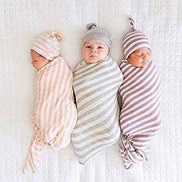 3 Pack Baby Swaddle Blanket Set Newborn Wrap Swaddle Receiving Muslin Baby Boys Girls Unisex Slee... | Amazon (US)